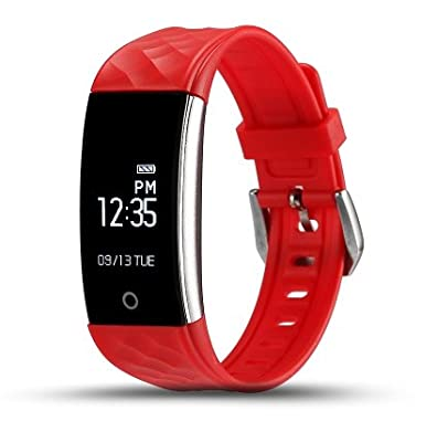 Fitness Tracker IP67 Waterproof Smart Band Real Time Heart Rate Wristband For Android 4.3 IOS 7.0 or Above Phone