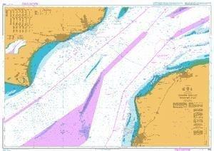 Ba Diagramm 1892  Dover Straße westlichen Teil von UNITED KINGDOM Hydrographic Büro