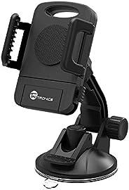 TaoTronics Car Phone Mount, Car Mount, Car Windshield / Dashboard Universal Smart Phone Mount Holder, Car Crad