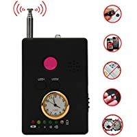 Auhko Multi-function RF Signal Camera Phone GSM GPS WiFi Bug Detector Finder with Alarm for Security Upgrade Version