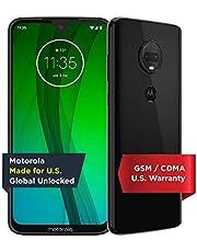 Moto G7 - Unlocked - 64 GB - Ceramic Black (US Warranty) - Verizon, AT&T, T-Mobile, Sprint, Boost, Cricket, Metro