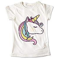 Blusa Unicornio Colores Poni Playera Estampado Ojos 040