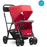 Joovy Caboose Ultralight Graphite Stroller, Red
