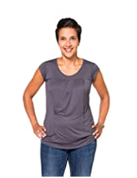 Momzelle Women's Breastfeeding Sara Nursing Top