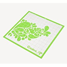 "StandardGrip Cutting Mat for Heat Transfer Vinyl (Iron on Vinyl) - Adhesive Mat 12x12"" for Cricut & Silhouette by CreativeXP"