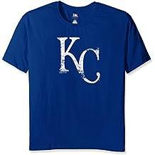 MLB Kansas City Royals Women's Team Short Sleeved Screen T-Shirt, 3X, Royal
