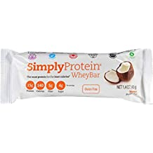 Simply Whey Bars Coconut 40 Grams (Case of 12)