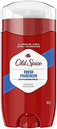 Old Spice High Endurance Deodorant for Men, Aluminum Free, 48 Hour Protection, Fresh Scent, 85 g