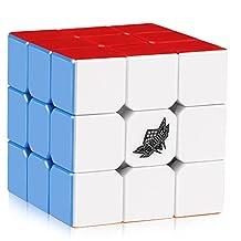 D-FantiX Mini Cyclone Boys 3x3 Speed Cube Stickerless Magic Cube 3x3x3 Puzzle Toys (40mm)