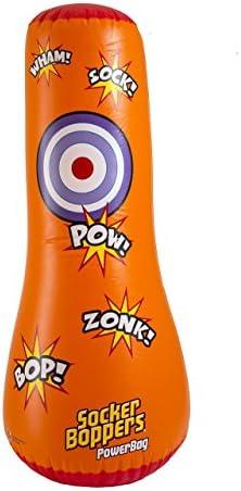 Big Time Toys Socker Bopper Power Bag Standing Inflatable Punching Bag for Kids - 1 ea