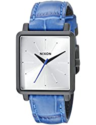 Nixon Womens A4722131 K Squared Analog Display Japanese Quartz Blue Watch
