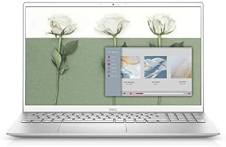 Dell Inspiron 15 5502, 15.6 inch FHD Non-Touch Laptop - Intel Core i5-1135G7, 8GB 3200MHz DDR4 RAM, 512GB SSD, Iris Xe Graphics, Windows 10 Home - Silver (Latest Model)
