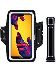 EOTW Sportarmband Handyhülle universell Kompatibel mit iPhone, Samsung, HTC, Huawei usw, Oberarmtasche Größen für Laufen