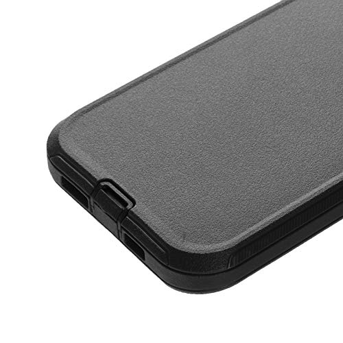 Co-Goldguard Phone Case Compatible with iPhone 12 Pro Max,Drop Protection Heavy Duty Hard 3 Layer Hybrid Strong Shockproof Scratch-Resistant Covers Durable Shell,Black