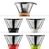 BODUM 11593-01S Pour Over Coffee Maker with