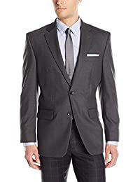 J.M. Haggar Men's Premium Performance Stretch Stria 2-Button Suit Separate Coat