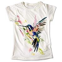 Blusa Colibrí Colores Playera Estampado Ave Animal 019