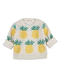 FCQNY Unisex Baby Little Boys Girls Thicken Crewneck Pullover Cotton Sweater