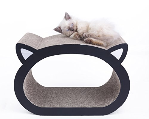 MushroomCat Face Ultimate Scratcher Lounge product image