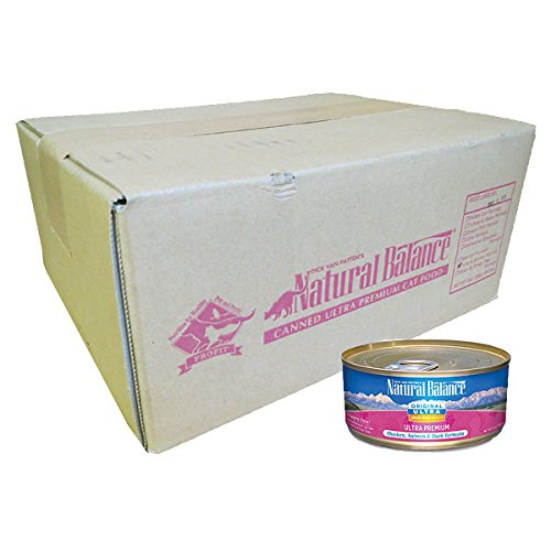 Natural Balance Ultra Formula Premium Canned Cat Food Can 24