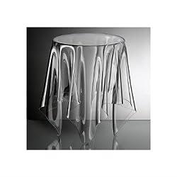 Essey, Tavolino d'appoggio, Bianco (farblos)