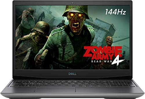 Dell G5 5505 15.6″ 120Hz FHD Gaming Laptop, AMD Ryzen 7 4800H, Webcam, RGB Backlit Keyboard, USB-C, HDMI, Nahimic 3D Audio, 6GB AMD Radeon RX 5600M, Win 10, 16GB RAM, 512GB PCIe SSD (2020 Model)