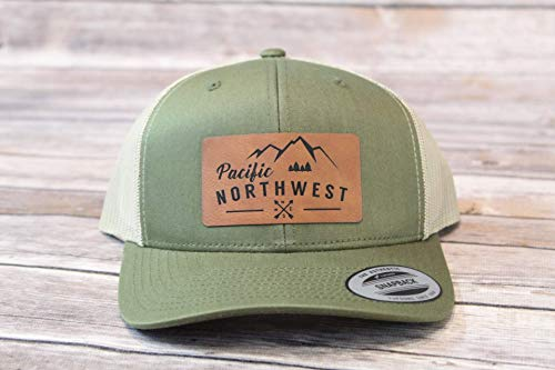 (Pacific Northwest, PNW, Hat, Mountains, Mt. Hood, Fishing, Fly fishing, camping, happy camper, lake life, camper, camping shirt, the mountains are calling, camping gear, camping, campfire, beer)