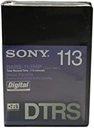 Sony DARS-113MP DTRS Tape 113 Minute