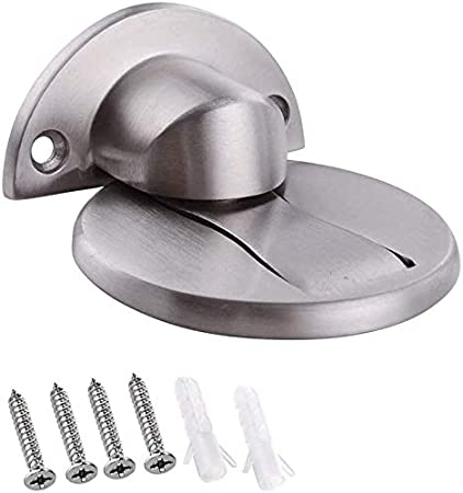 Umi. por Amazon Tope para Puerta Magnético Compacto Metal Tope de Puerta iman de Acero Inoxidable, HDS212-2