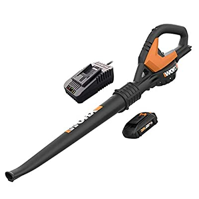 WORX WG545.6 20V 2.0Ah Cordless AIR Leaf Blower/Sweeper Battery and Charger Included