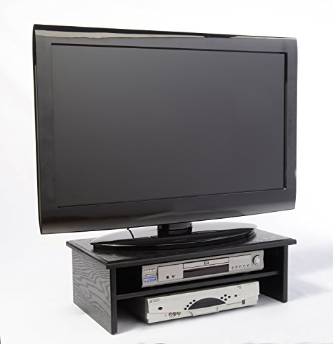 (BLACK TRIPLE TIER TV RISER)
