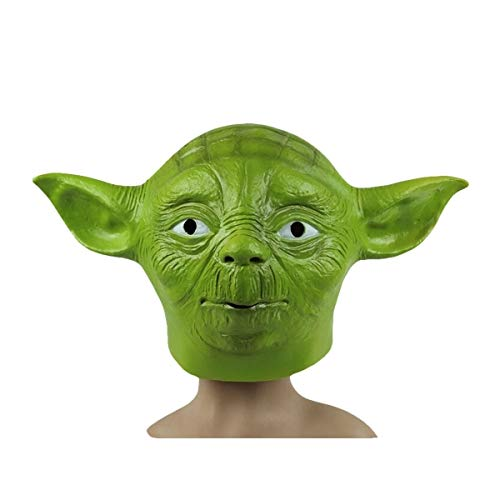 (yoda star wars latex mask disguise)