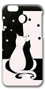 iPhone 6 Case, Custom Design Protective Covers for iPhone 6(4.7 inch) PC 3D Case - Love Cats