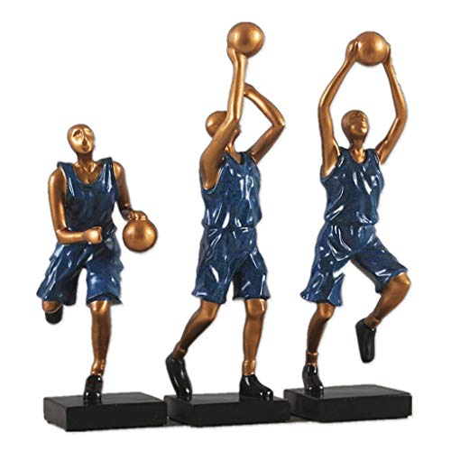 (W&R Basketball Player Sculpture Decoration Crafts, Home Decorations)