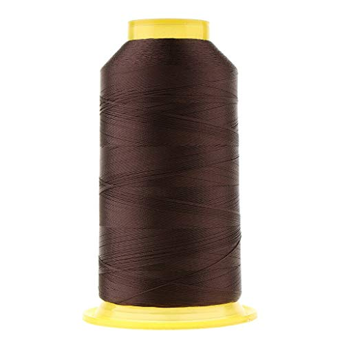 MOPOLIS 2154 Yard/Spool Strong Polyester Sewing Quilting Threads All Purpose 150D | Color - Dark Coffee ()