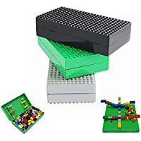 Joy-JoyTown 3 Colors Portable Storage Brick Box Surface...