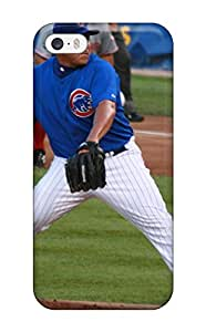 Hot 1874755K370680581 chicago cubs MLB Sports & Colleges best iPhone 5/5s cases