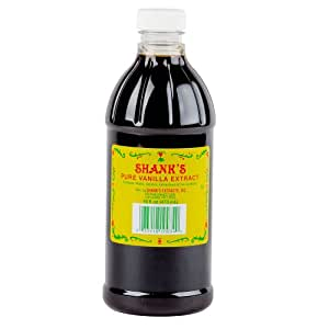 Shank's Premium 16 Fl oz. Pure Vanilla Extract