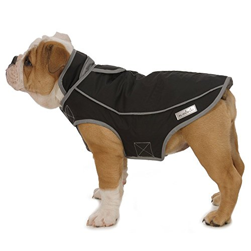 My Canine Kids Precision Fit Technology Sport Parka (Medium - Fits Up to 30 LBS - adjusts 24-28