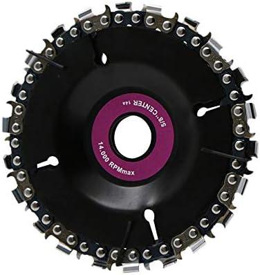 Disc Grinder Wood Grinder Disc Best Quality JMSM 22 Tooth 4 Inch Grinder Disc And Chain Fine Cut Set Angle Grinder Disc Disc Grinders Grinder Tool Angle Grinder Chainsaw Disc