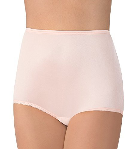 Vanity Fair Women's Perfectly Yours Ravissant Tailored Brief Panty 15712, Just Peachy, X-Large/8