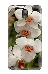 New Style Case Cover OsqPsFr1349wdvxV White Flowers Compatible With Galaxy Note 3 Protection Case