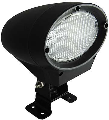 HID Work Lamp Flood Light Beam 50 W 6000K Xenon 4500 (Hid Flood Beam)