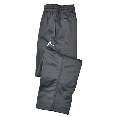 Nike Air Jordan Boys Therma Fit Gray Track Pants (M) (Track Pant Nike)