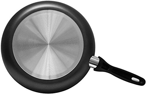 Aluminum Nonstick Frying Pan Set - (3-Piece 8 Inches, 9.5 Inches, 11 Inches) - Fry Pan / Frying pan Cookware Set, Dishwasher Safe - by Utopia Kitchen by Utopia Kitchen (Image #3)
