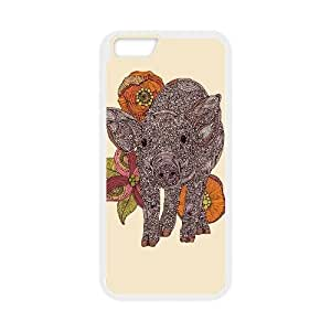"""DDOUGS Piggy New Fashion Cell Phone Case for Iphone6 Plus 5.5"""", Customized Piggy Case"""