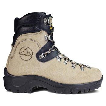 [La Sportiva Glacier WLF Mountaineering Boot - Men's Tan, 44.0] (Glacier Mountaineering Boot)