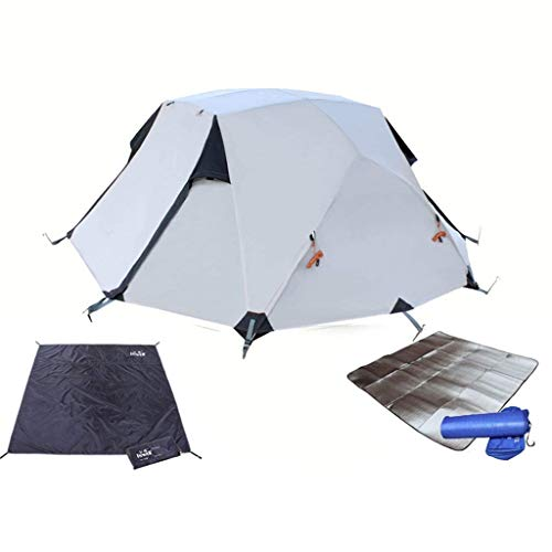 Vineyard Outdoor Camping Tent, 3-4 People, Oxford Cloth, Rainproof Sunscreen Waterproof, Suitable for Picnic Beach Park Lawn Field Mountaineering Hiking Tour