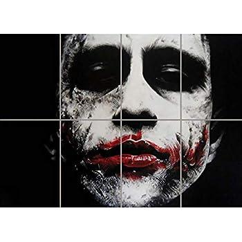 Amazon.com: Heath Ledger Poster 13x19 The Joker: Posters