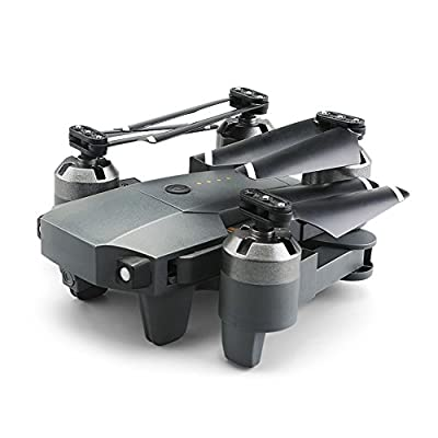 Qiyun RC Drone 2.4G 4 Channel 6-Axis RC Drone Mini Foldable RC Helicopter Wifi Real-time Transmission Drone and Accessories (Sold Separately)